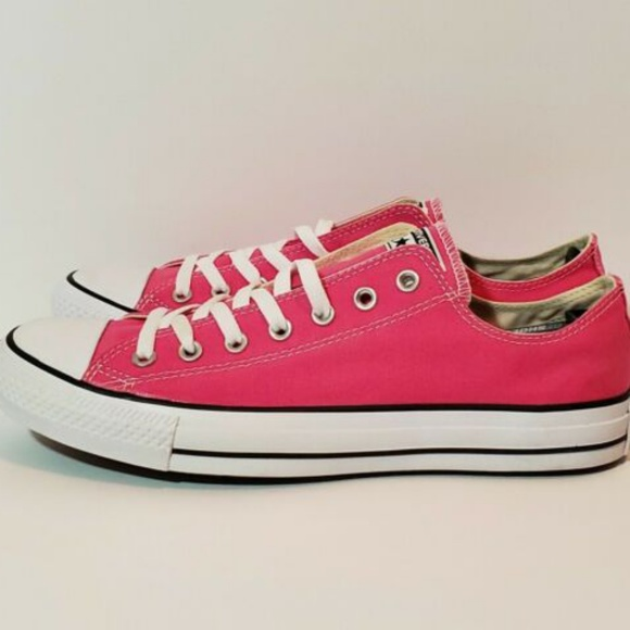 converse hot pink shoes